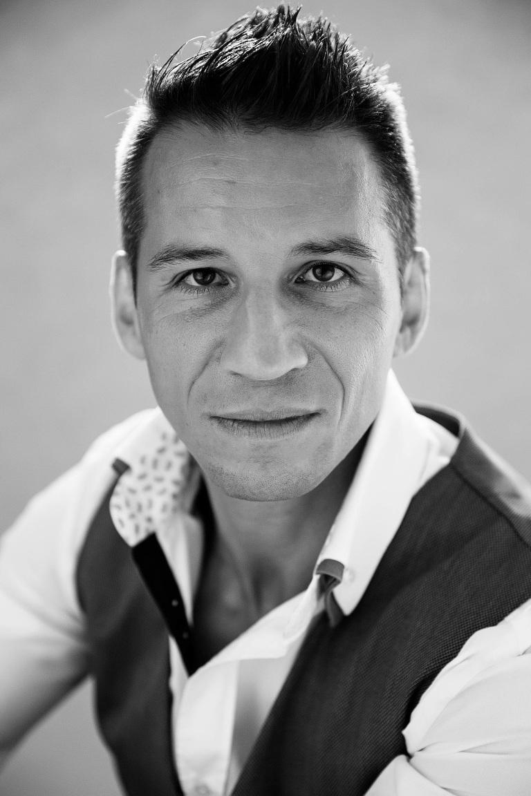 male business portrait headshot